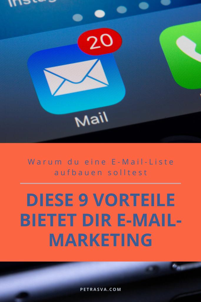 Diese 9 Vorteile bietet dir E-Mail-Marketing