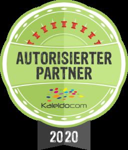 Ich bin autorisierte Partnerin von Kaleidocom.