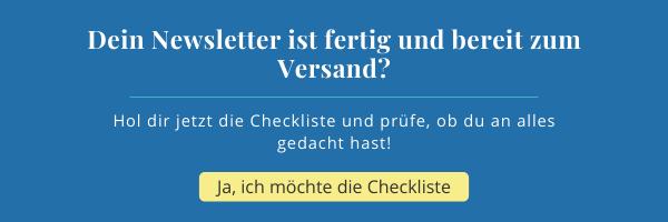 Deine-Newsletter-Checkliste